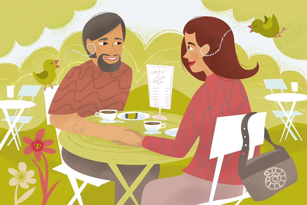 Att båda skaffar sig kunskaper om kommunikationsstrategier är en nyckel till att förbättra samtalssituationen.